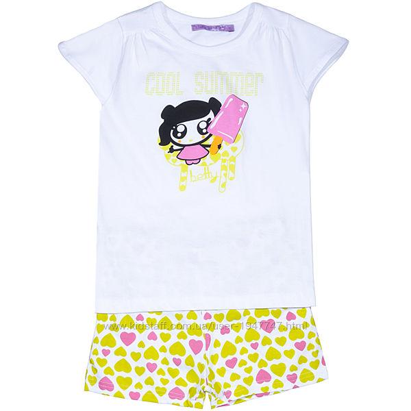 Пижама Losan Mc baby girls 016P02004/443 Светло-фисташковый