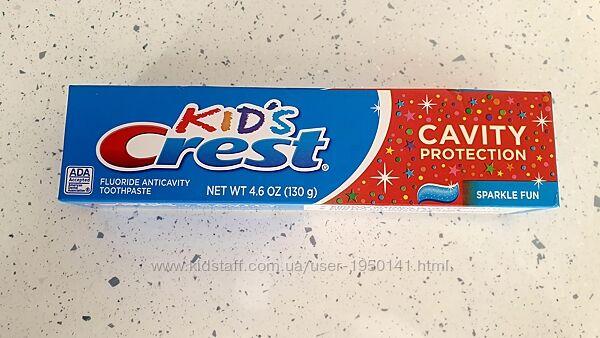 Зубные пасты Crest для ухода за зубами , дёснами, отбеливание, детокс уход
