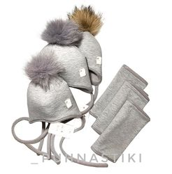Комплект шапочка снуд
