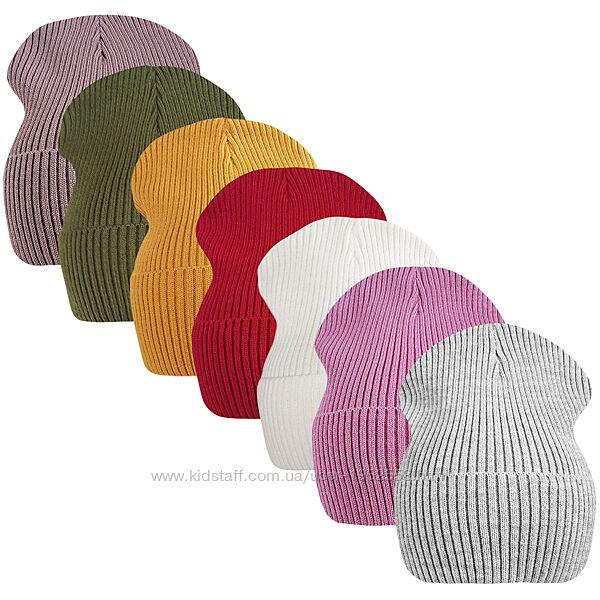 Вязаная шапка унисекс дакота ог.52-58см
