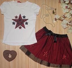 Нарядный Костюм  праздничный комплект  для девочки 1- 12 лет
