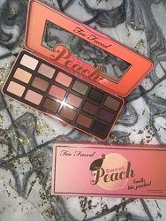 Палетка теней для век Too Faced Sweet Peach Eye Shadow Palette оригинал