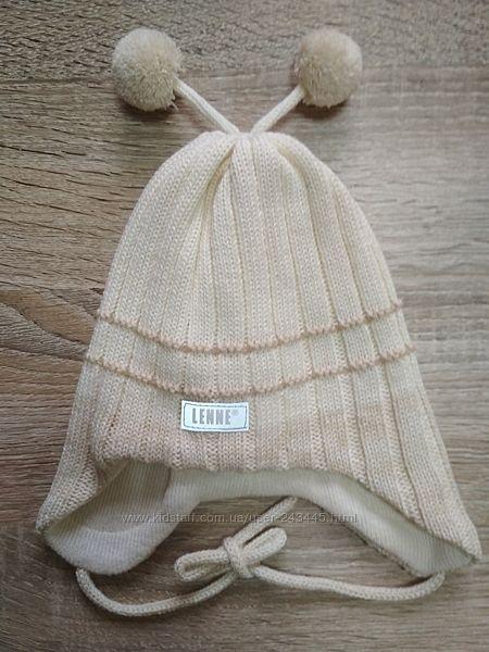 Вязаная зимняя шапка Lenne Brate р. 40. 42. 44. 46