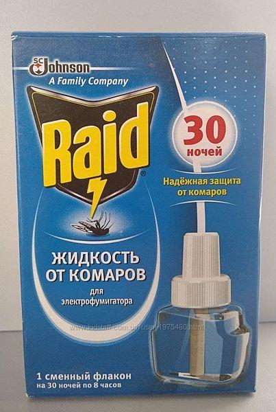 Raid рейд рідина від комарів 30 ночей / жидкость от комаров
