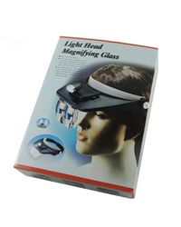 Light Head Magnifying Glass Бинокуляр С Подсветкой И Линзами