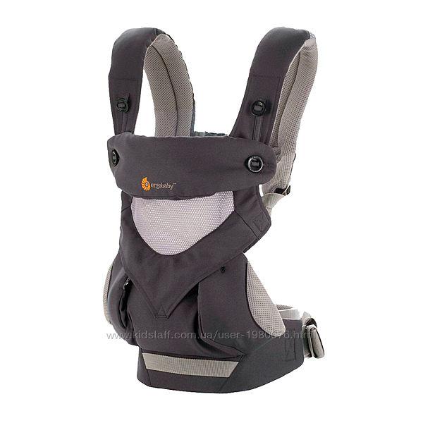 Эрго рюкзак  Ergobaby 360 CoolAir Mesh-Carbon Grey Идеальное состояние