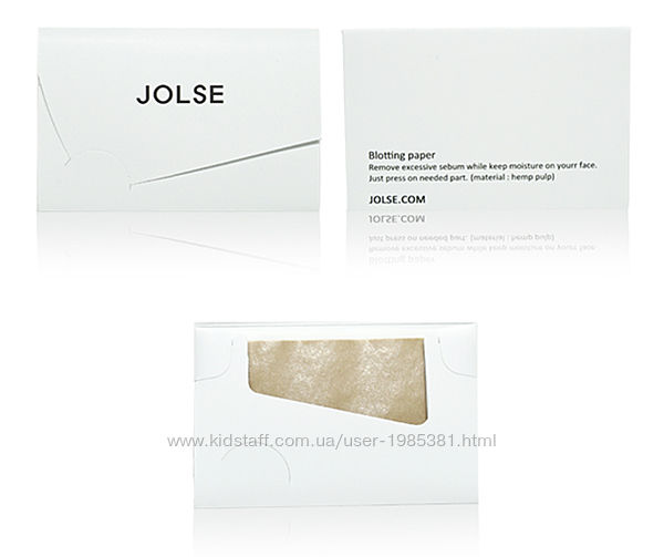 Корейские матирующие салфетки Jolse oil blotting paper