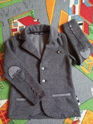 Школьный пиджак трикотажный Турция Blueland