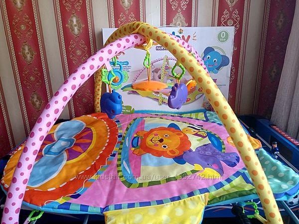 Развивающий детский коврик для ребенка с 0 мес.