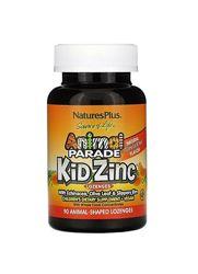 Цинк детский Animal Parade, Kid Zinc, со вкусом мандарина, 90 штук.