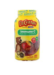 Lil critters ImmuneC с цинком и витамином D, 190шт
