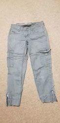 Levis джинсовые карго капри