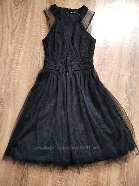 Нарядное чёрное платье Orsay
