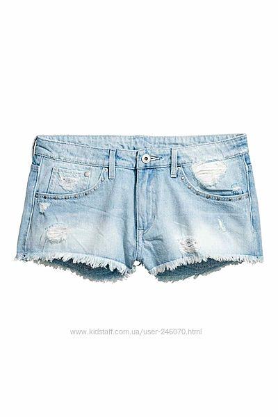 Модные джинсовые шорты H&M