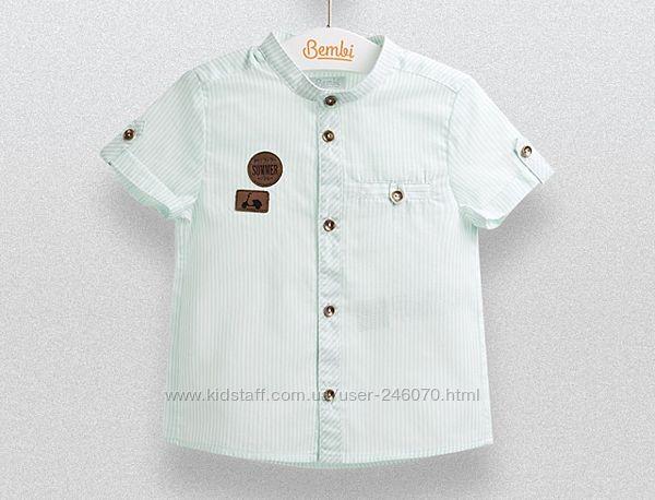 Летняя тоненькая рубашка Бемби размер 140