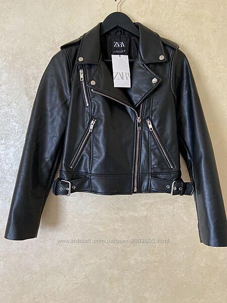 Куртка косуха з еко шкіри XS, L в наявності