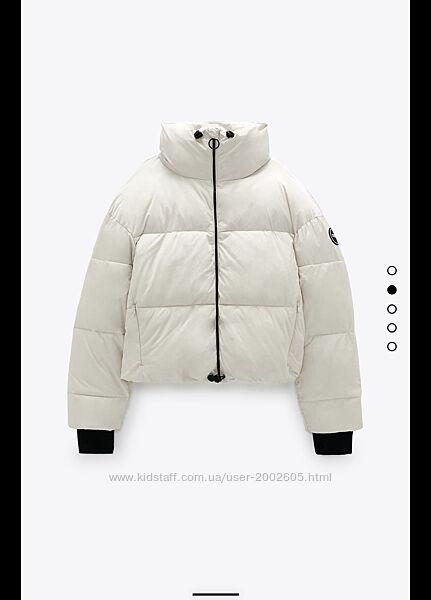 Демисезонна куртка Zara з еко пуху В наявності розмір С