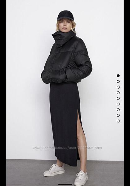 Пухова куртка Zara XS, L, XL в наявності