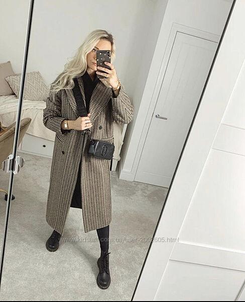 Шерстяне пальто Zara розмір С В наявності