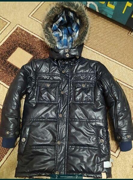 Теплая зимняя куртка- пальто Kanz