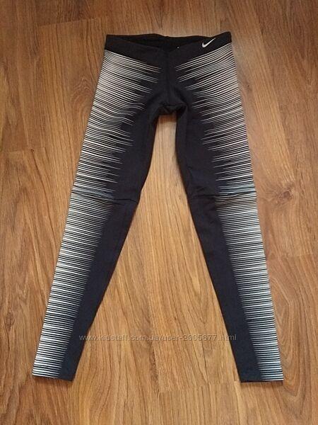 Nike Running Tights беговые легинсы со светоотражающими полосками XC