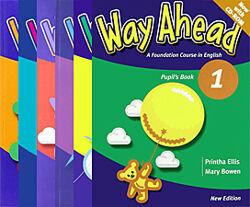 Учебники Way Ahead Pupils book и work book 1-6 уровни