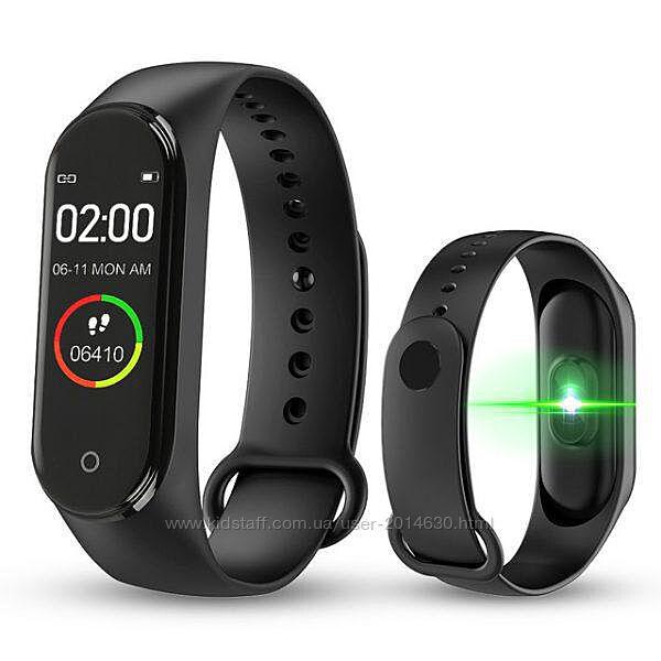 Фитнес браслет Smart Watch M5 Band Classic Black смарт часы-трекер. Цвет ч