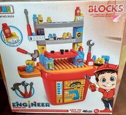 конструктор BOWA Mega Bloks  большие детали