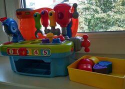 Hola Hulie Toys Столик с инструментами Huile Toys сортер мастерская ст