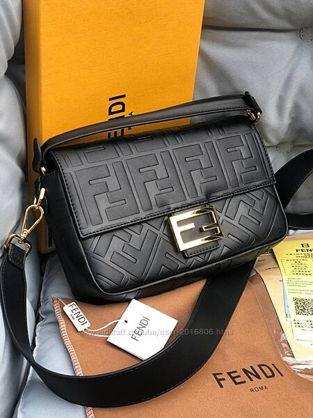 Кожаная сумка Fendi