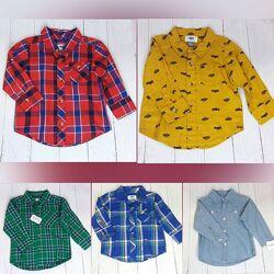 Нова сорочка, рубашка carter&acutes 12міс 18міс 24міс