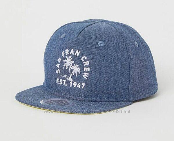 Новий бейс, кепка, бейсболка h&m 92 104 110 128 1.5-4р 4-8р