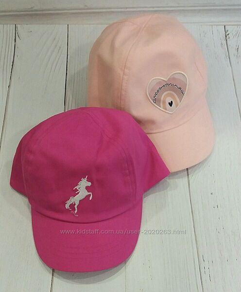 Новий бейс, кепка, бейсболка для дівчинки george 1-3р 4-8р