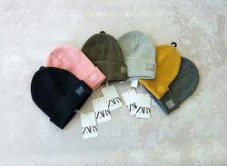Нова шапка в рубчик зара zara 52 54 56 є багато кольорів