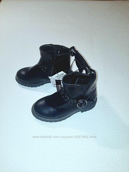 Ботинки 26 разм. демисезон на девочку от Kiabi, Франция.