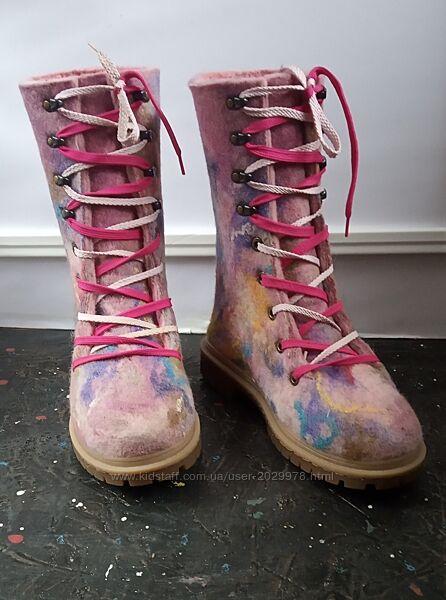 Ботинки женские mix