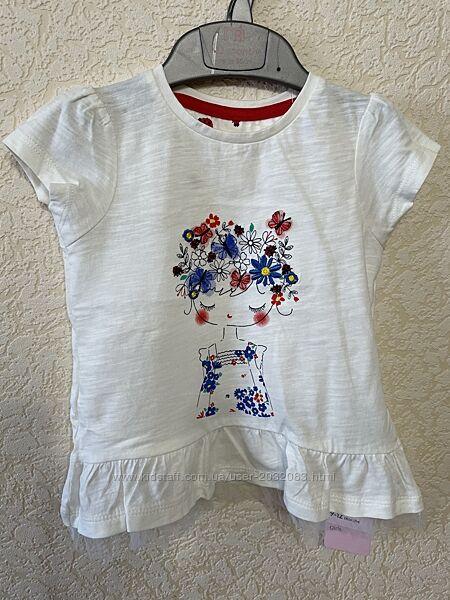2 футболки  MotherCare  9-12м