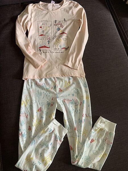 Очень качественные пижамы lc Waikiki. Новые. 7-8, 8-9, 10-11 лет