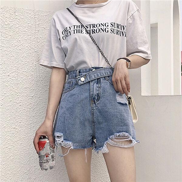 Новинка джинсовые шорты на лето