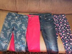 Наши джинсы Benetton , легенсы Cool club в размерах 130-140