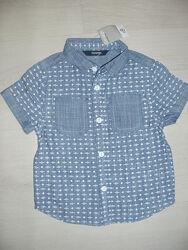 Рубашка джинсовая рост92-98 George Новая