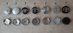 Ступичные колпачки в диски заглушки в диски Toyota