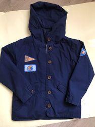 Куртка ветровка фирмы 5.10.15 размер 116, б/у
