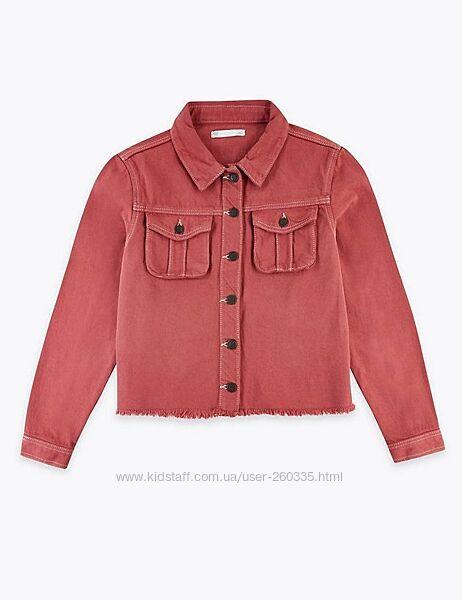 Джинсовая куртка Marks&Spencer 11-12 лет, р.152