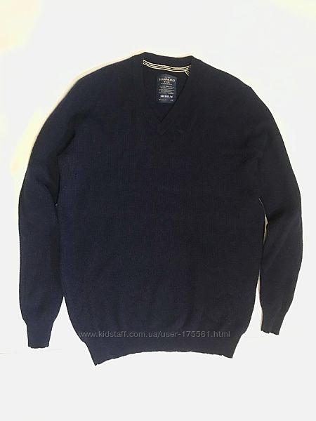 Теплый шерстяной свитер Hammond синего цвета , Англия