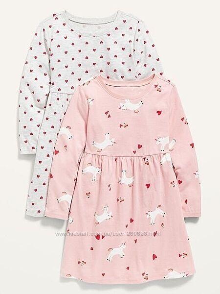Модные платья Old Navy для девочек 3, 4 и 5 лет