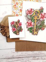 Валентинка, открытка, листівка