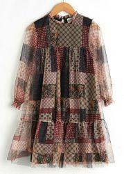 Нарядное платье-Хлоп. /Тюль-128--158-Нарядные Платья 116--160см- LC Waikiki
