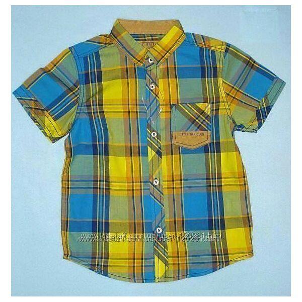 Яркая Тениска-Шведка-110см-Хлопковые Рубашки/Тениски 104--128см-LC Waikiki