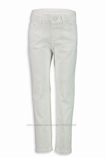 Белые Джинсовые Брюки-116--140-Джинсы/Брюки на подкладке-116--146см-Waikiki